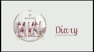Diary - Gugudan (구구단) Color Coded Lyrics (Pt/Br)