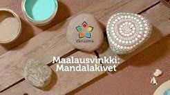 Maalaa ja sisusta! Katso ohje: mandala. Unelmien Väri Nahkasandaali kivien maalauksessa   Värisilmä