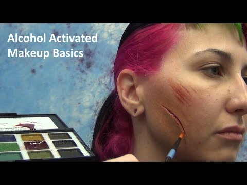 Alcohol Activated Makeup Basics With Stuart Bray