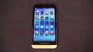 BlackBerry Z30 Review Part 1