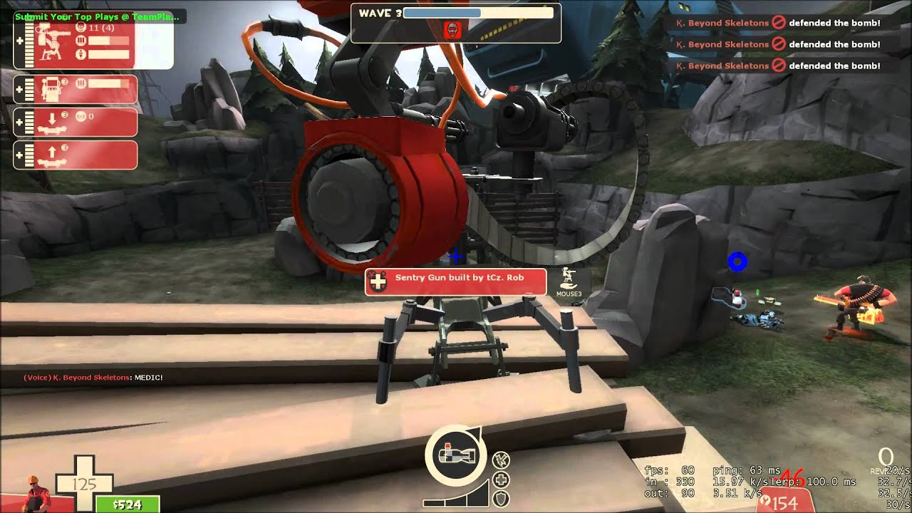 Tf2 mvm casuals episode 3 ironman difficulty mannworks for Ep ptable queue proc