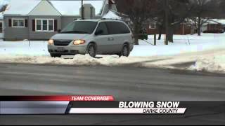 Drifting Snow Causing Problems in Darke County