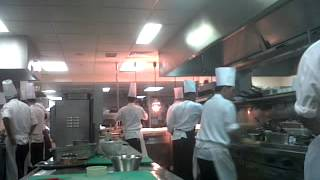 Al Mahara Seafood Restaurant Chef's in Action!