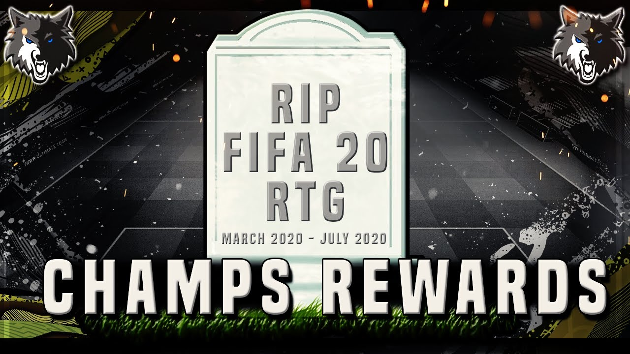 THE END OF THE RTG?! FIFA 20 ULTIMATE TEAM FUT CHAMPIONS REWARDS