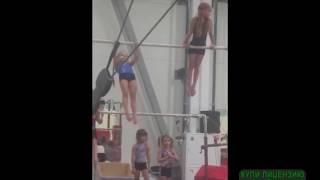 Спортивная гимнастика, открытый урок.