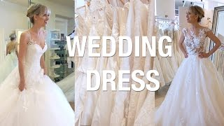 Trying on wedding dresses + tips to find THE ONE! | Superholly wedding series