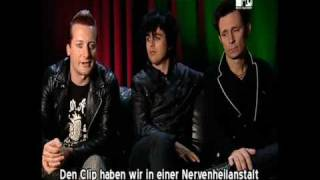 Green Day Videography - MTV Special 2009