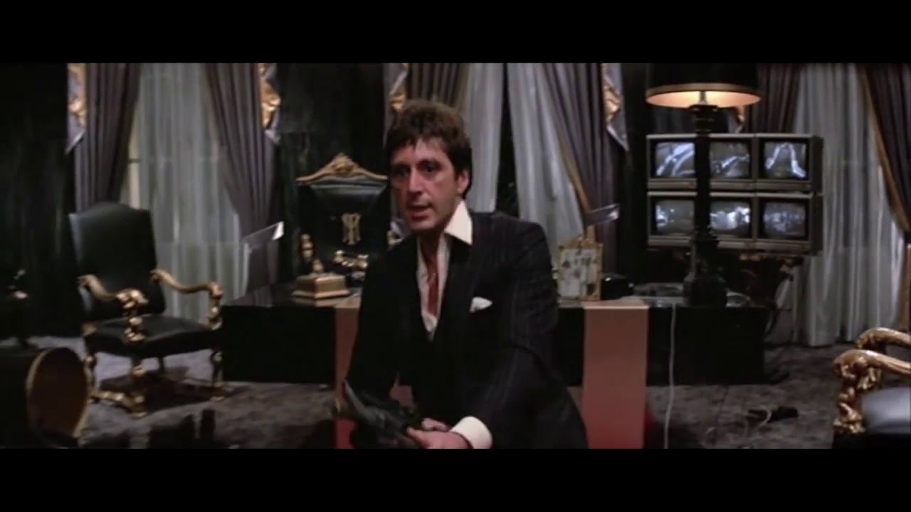 Say Hello To My Little Friend Scarface Original Movie Clip Youtube