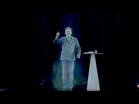 Echtes Hologramm