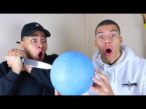 DIESER BALL KANN NICHT PLATZEN !!! (UNMÖGLICHE CHALLENGE) | PrankBrosTV