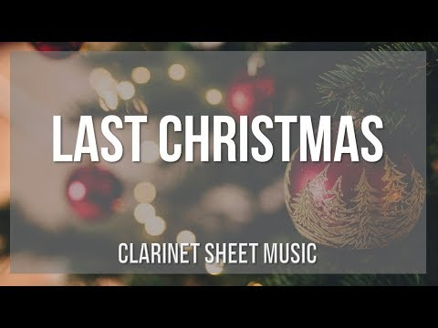 EASY Clarinet Sheet Music: How to play Last Christmas by Wham