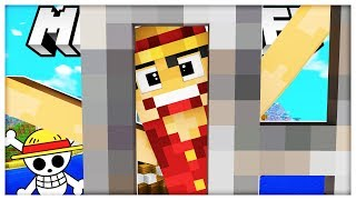 ONE PIECE ANIME MODDED COPS AND ROBBERS HIDE AND SEEK MOD - Minecraft Mod (FUNNY MOMENTS)