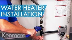 The Sears Water Heater Installation Process