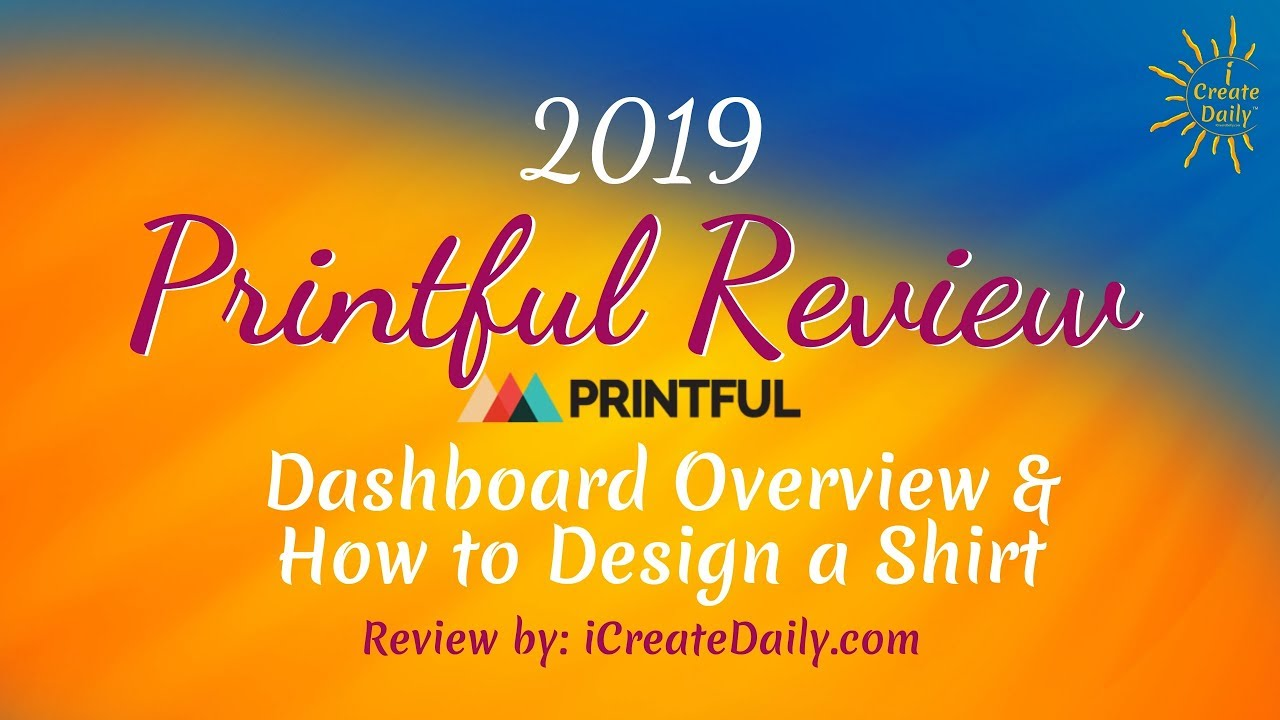 Printful Review: Pros and Cons of this Print-on-Demand T-Shirt