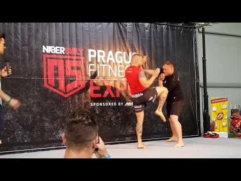 Nabersvaly Prague Fitness EXPO 2018 : PATRIK KINCL - EXHIBICE || SOUTĚŽE || ARMWRESTLING a další