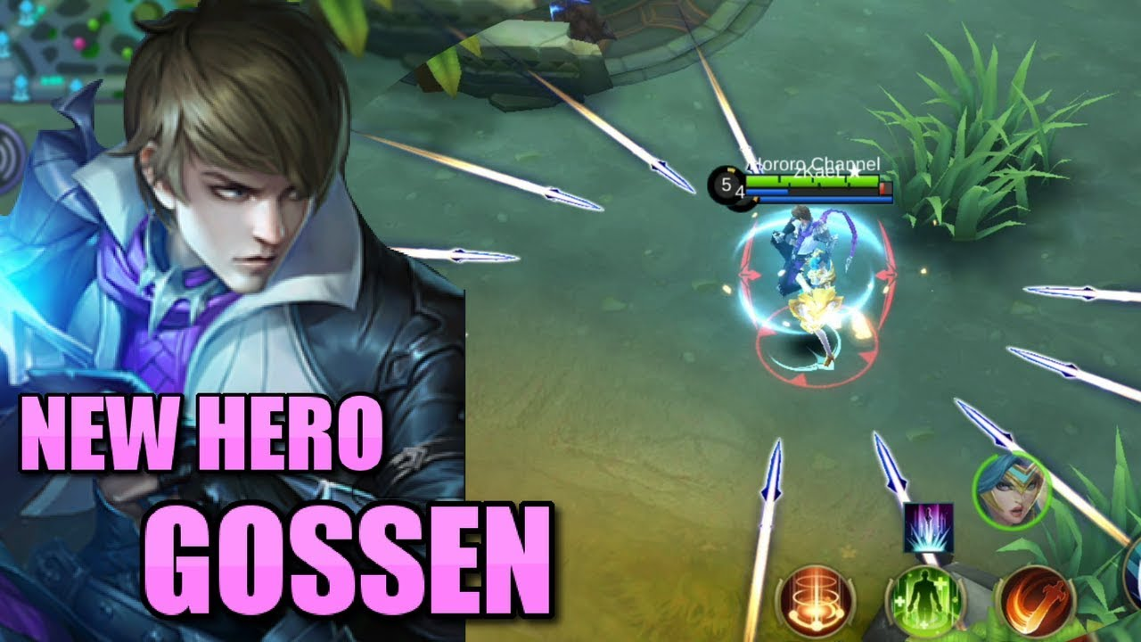 NEW HERO GOSSEN HOLY BLADE ASSASSIN HERO IS HERE!!!