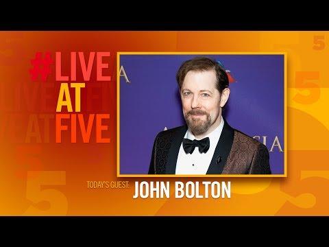 Broadway.com #LiveatFive with John Bolton of ANASTASIA
