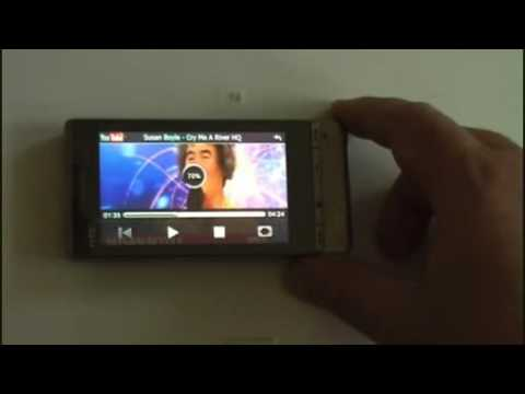 HTC Touch Diamond2 bemutató, review