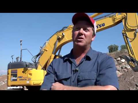 TOPCON 3D Excavating with the X 63