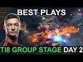 TI8 BEST PLAYS The International 2018 GROUP STAGE DAY 2 Highlights Dota 2 by Time 2 Dota #dota2