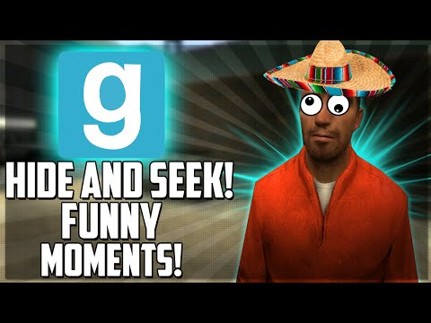 Gmod Hide & Seek Funny Moments - Epic Scream, Best Hiding Spot, Haunted Monitor (Funtage)