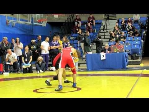 CIS Championships 2012: 54 kg Trevor Banks vs. Zack Falcioni