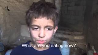THIS IS HUNGER: SYRIAN BOY DREAMS OF BREAD, FORCED TO EAT GRASS