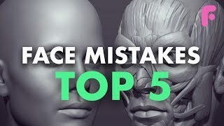 5 Mistakes Every Artist Makes When Making Faces - Art Fundamentals