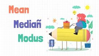 Download Mean, Median, Modus #MatematikaSD #Kelas5 #Kelas6