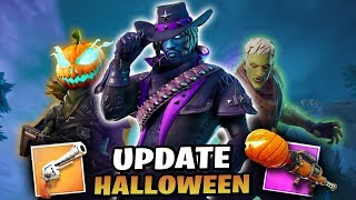 FORTNITE-MEGA UPDATE!! ZOMBIES, NEW WEAPONS AND SKINS...