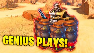 GENIUS *1000 IQ* UNEXPECTED Trick..!! - NEW Funny & Epic Moments | Apex Legends Montage #101