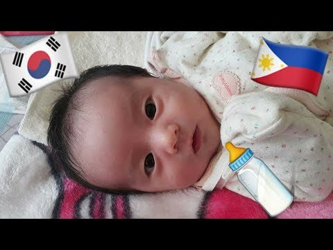 Filipino korean baby girl