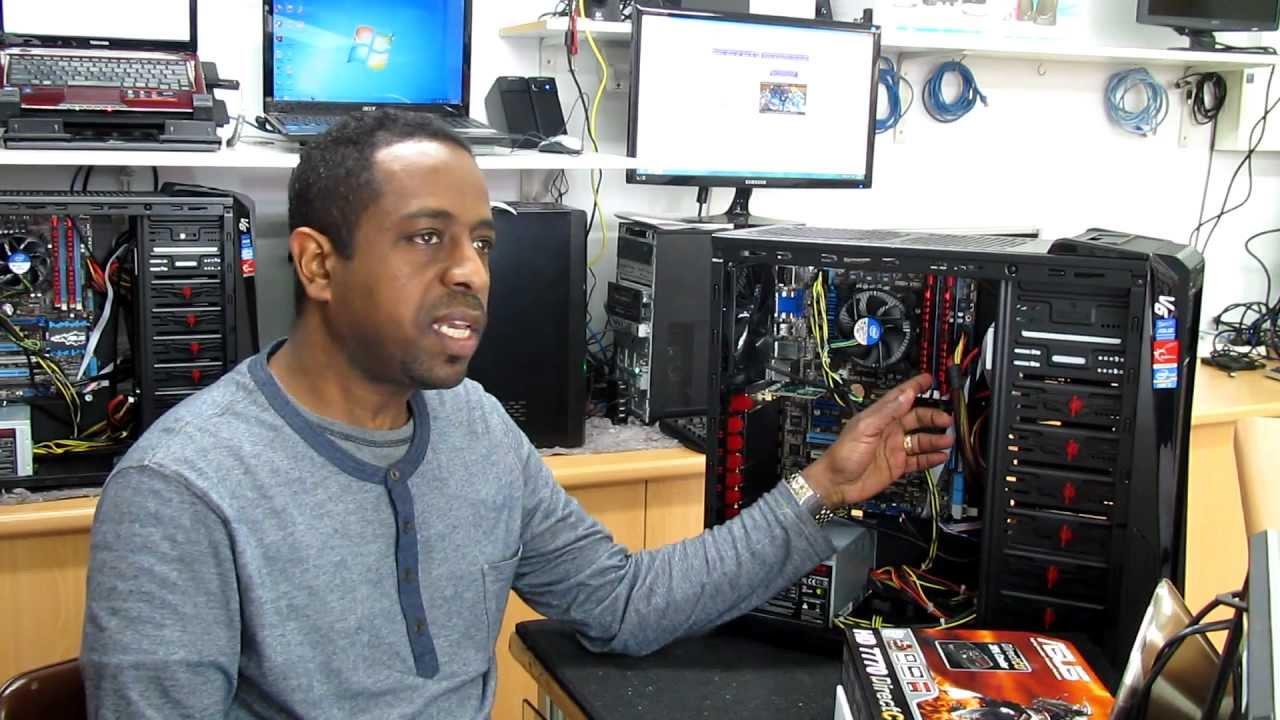 Installing Asus HD 7770 DirectCU V2 PCI-E 3.0 Video Card ...