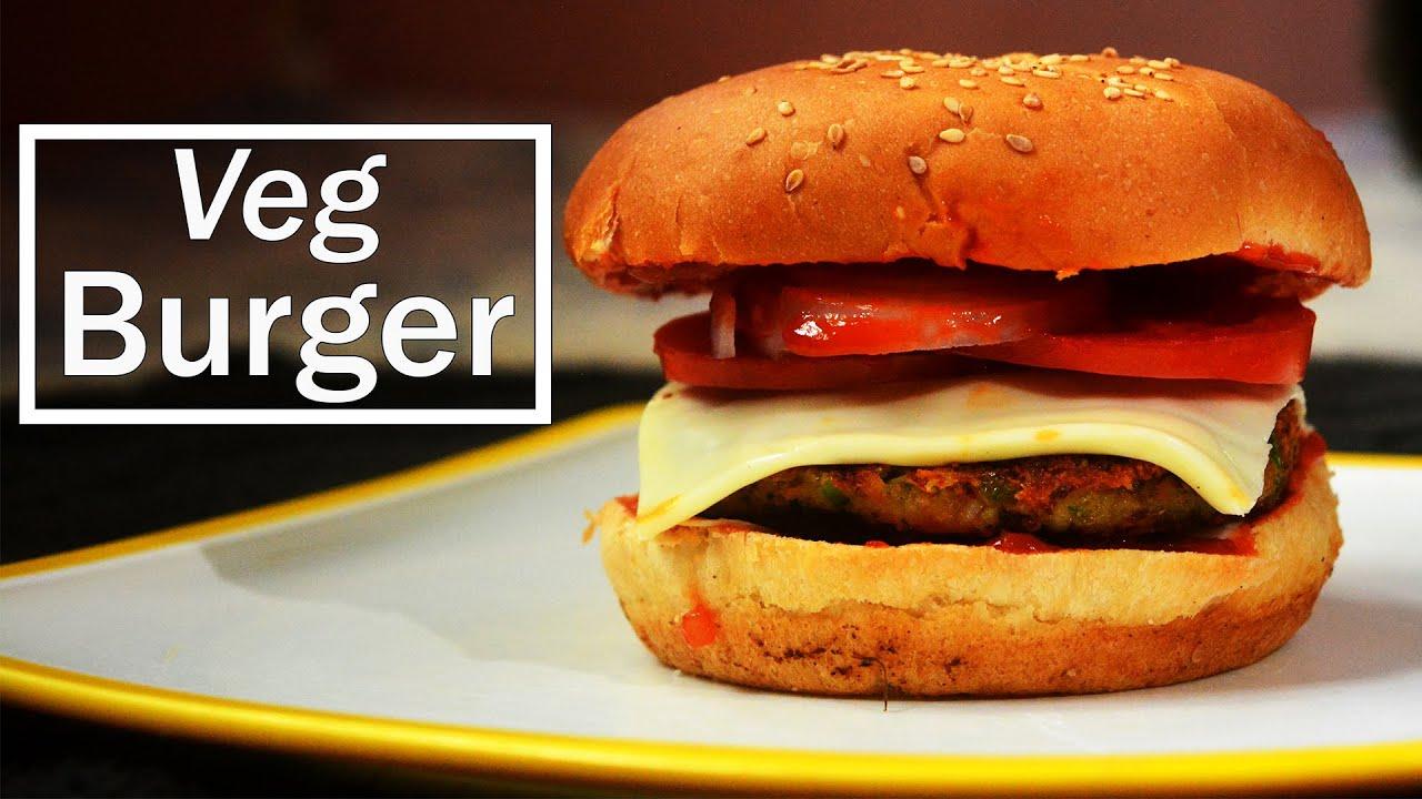 Veg Burger व ह ज बर गर स पल आण बनव यल ख प स प Maharashtrian Recipes Desi Cooking Recipes