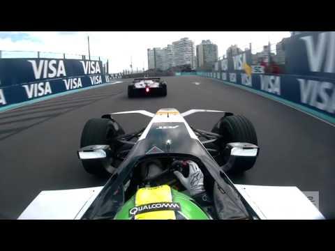 Full Race Onboard: Di Grassi Battles Vergne For Lead ALL RACE! - ABB Formula E