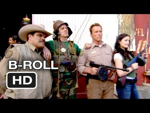 The Last Stand B-Roll (2013) - Arnold Schwarzenegger, Johnny Knoxville Movie HD