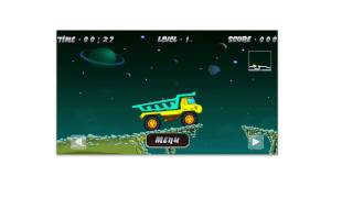 Top Best iPhone iPad iPod Game Space Dump Truck Awesome Free Arcade Game