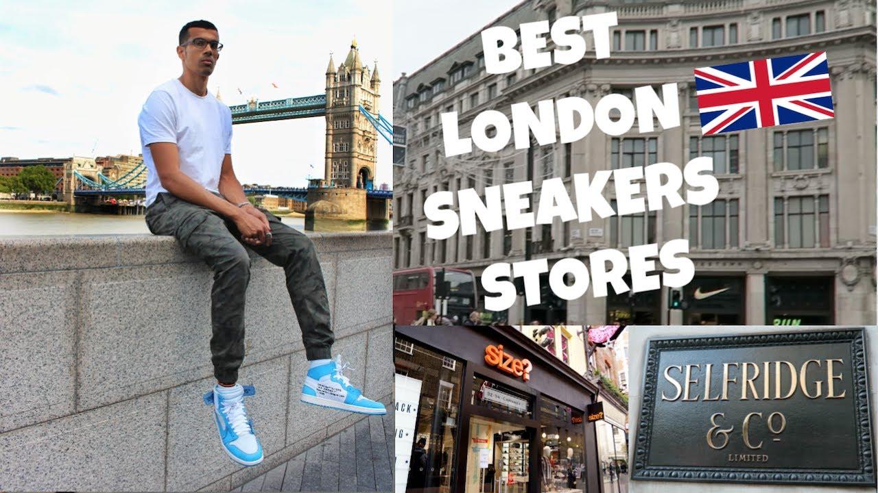 STREETWEAR STORES IN LONDON - VLOG