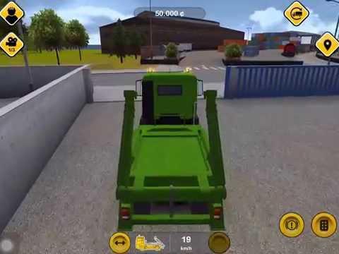 ❤ เกมขับรถบรรทุก รถตักดิน รถก่อสร้าง รถขุดเจาะ