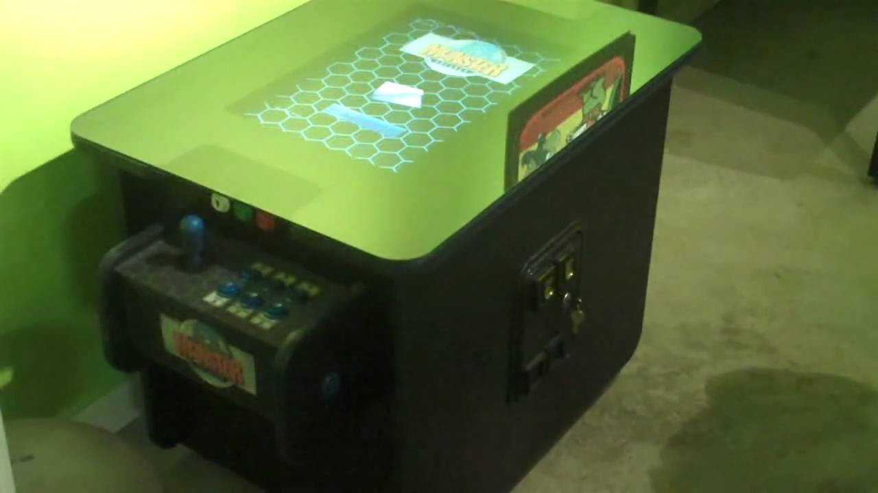 Monster arcades mame cocktail table youtube monster arcades mame cocktail table geotapseo Gallery