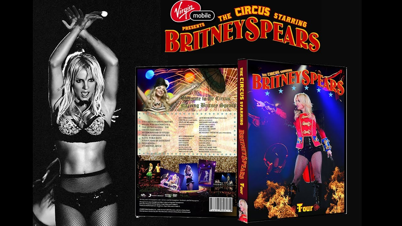 preview britney spears circus tour dvd menu youtube