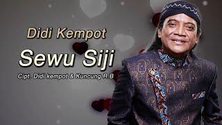 Download Mp3 Didi Kempot - Sewu Siji   Lyric Video