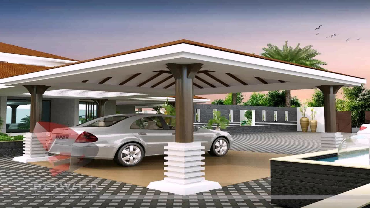 House Car Porch Design Malaysia Youtube