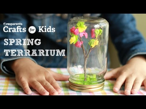 DIY Spring Tree Terrarium | Crafts for Kids | PBS Parents