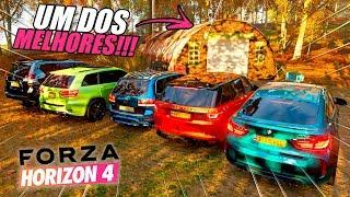 ACHAMOS UM DOS MELHORES CARROS ABANDONADOS!! - FORZA HORIZON 4