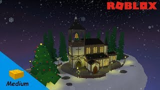 ROBLOX STUDIO SPEED BUILD / Christmas Special