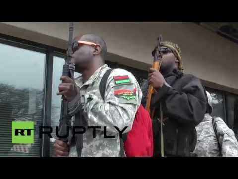 "USA: New Black Panther Party wants to ""arm every black man"""