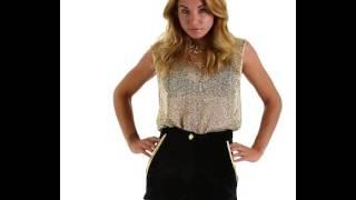 Missbehaver.com Black Velvet Shorts