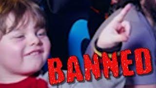 Baby JoJo Drops the Ban Hammer