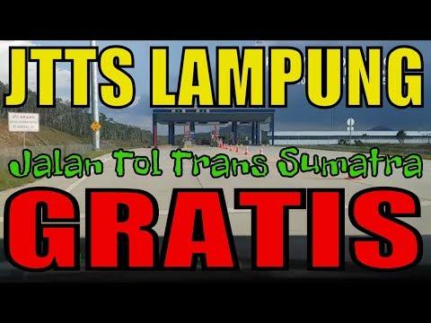 JTTS Jalan Tol Trans Sumatra Gratis tol lampung sumatera lewat tol lampung itera tanjung bintang